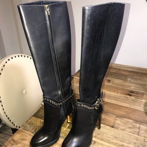 New Women Salvatore Ferragamo  Riding Boots